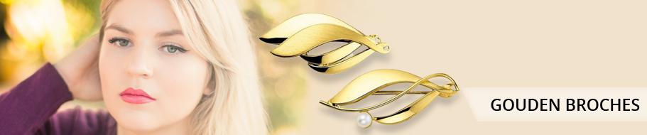 Gouden broches