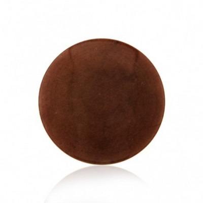 My iMenso chocolat dyed jade gemstone 33-1209