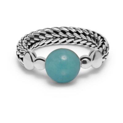 Buddha to Buddha 004GR ring Batas Sphere Stone Mint