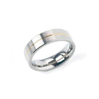Boccia bicolor ring 0101-21 titanium