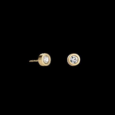 Coeur de Lion oorbellen 0228/21-1816 plated goud