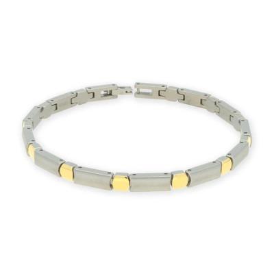 Boccia bicolor armband 03027-02 titanium