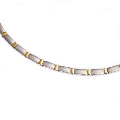 Boccia Titanium bicolor collier 0845-02