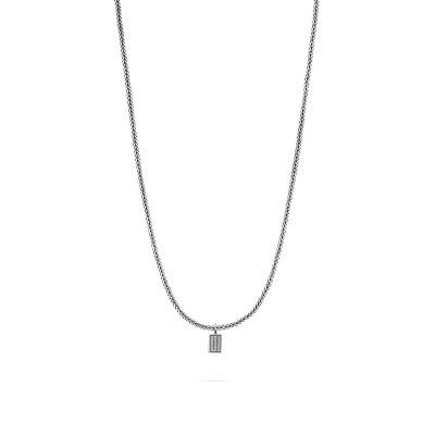 Buddha to Buddha Barbara XS Necklace Silver