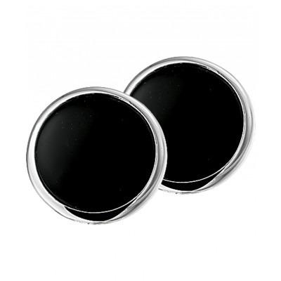 Mooie onyx oorclips
