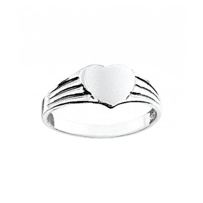 Prachtige zilveren ring voor kinderen
