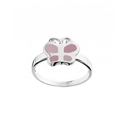Ring van zilver met lief dierenthema