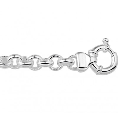 Zilveren armbanden jasseron 8mm-1
