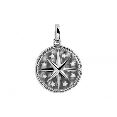 Zilveren hanger met ster