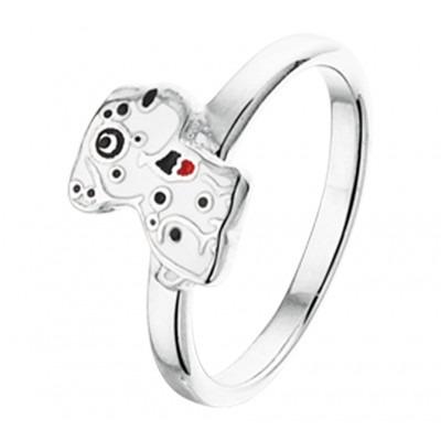 Ring van zilver met leuk dierenthema