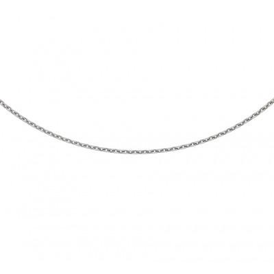 Zilveren anker ketting verstelbaar