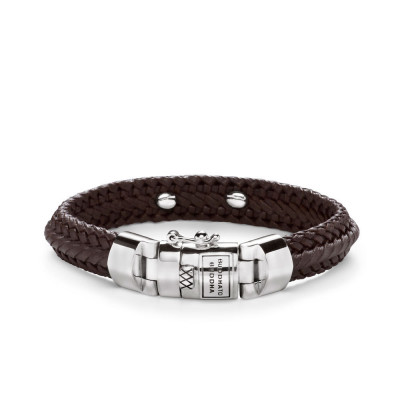 Buddha to Buddha 816BR Armband Nurul Small Leather Brown