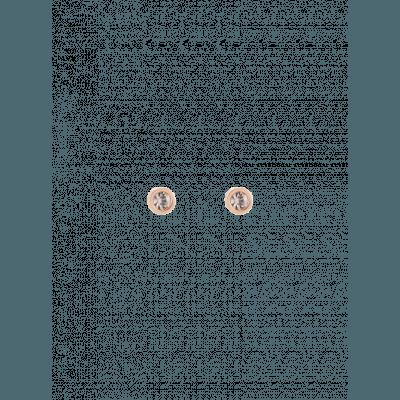 Coeur de Lion oorknopjes 0228/21-1020 beige