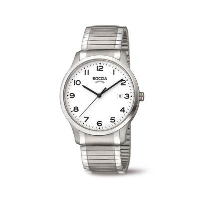 Boccia herenhorloge 3616-01 titanium