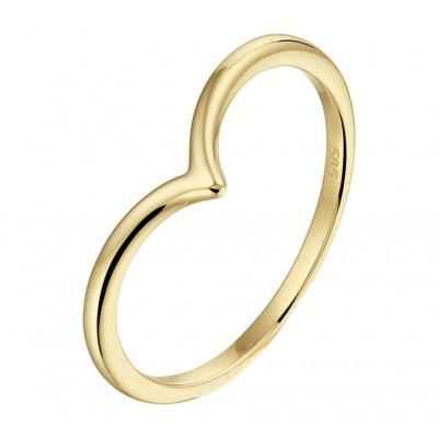 14 Krt gouden ring