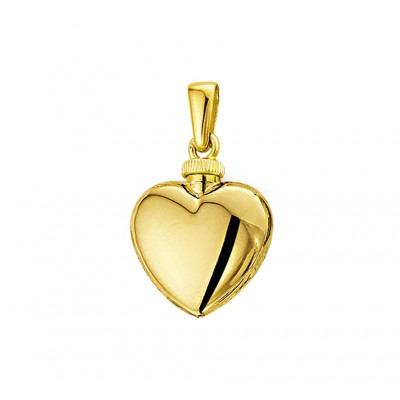 Ashanger van goud hartje