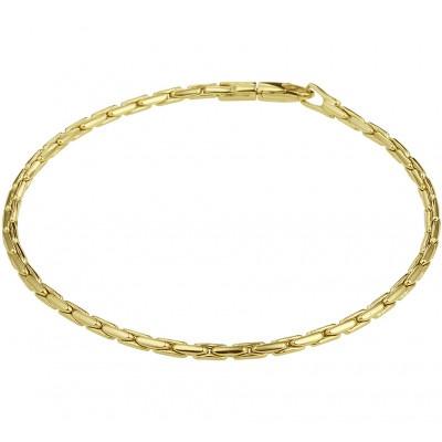Gouden armband 19 cm