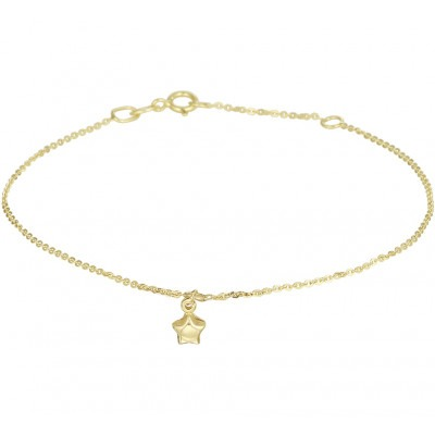 Gouden armband met ster