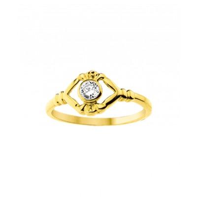 Gouden kinder ring