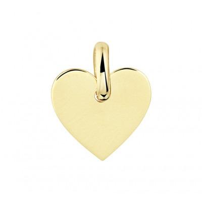 Graveerhanger hart goud