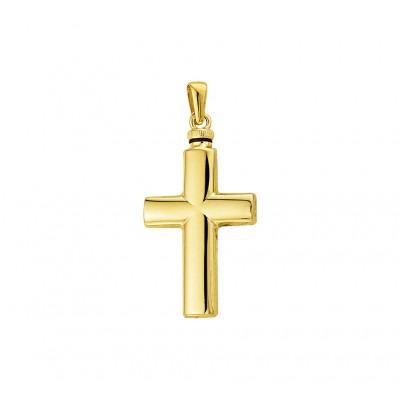 Kruisje ashanger van goud