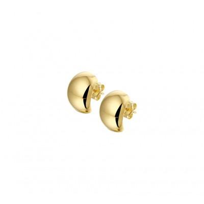 Luxe gouden creolen 14-karaat