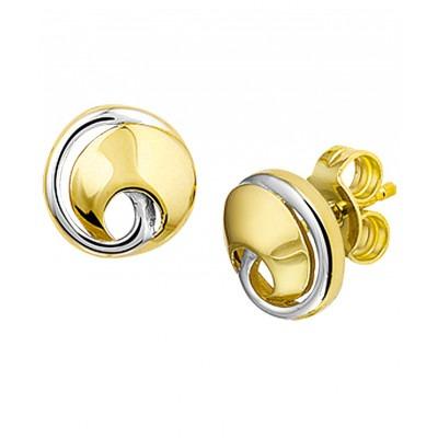Mooie klassieke oorknoppen van echt goud