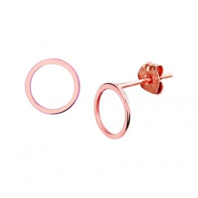 Luxe rosékleurige oorknoppen