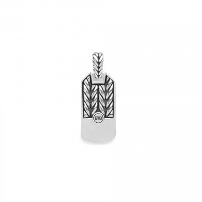 Buddha to Buddha hanger 107 one Barbara Tag pendant silver