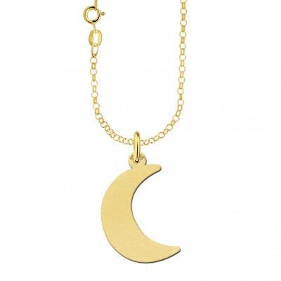 Gouden ketting maan