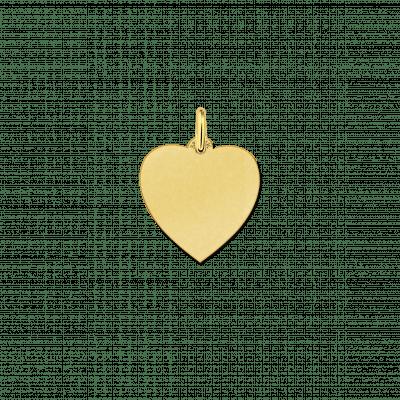 Gouden hartjes hanger met of zonder ketting