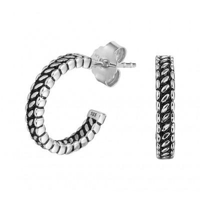 925 Zilveren creolen