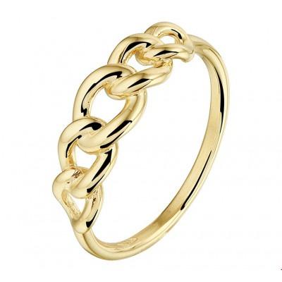Echt 14 krt gouden ring