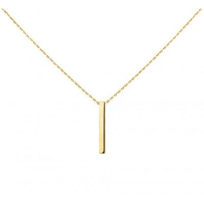 Gouden bar ketting