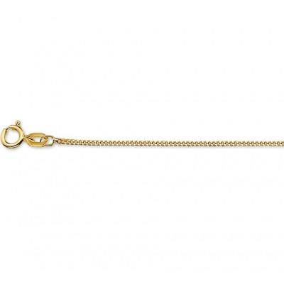 Gouden gourmet ketting 41-43-45 cm