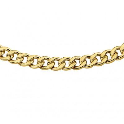 Gouden gourmet ketting heren 6 mm