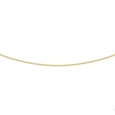 Gouden ketting anker verstelbaar