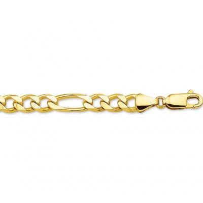 Gouden ketting heren figaro