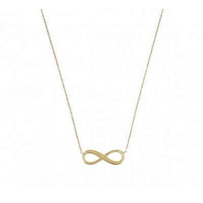 Infinity ketting goud