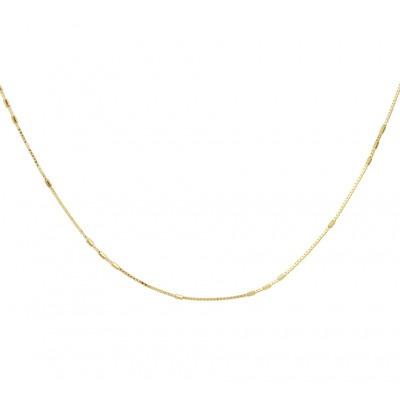 Ketting zonder hanger goud Venetiaans 45 cm