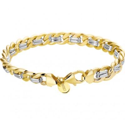 Luxe schakelarmband van goud gourmet schakel