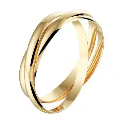 Mooie ring 14-karaat goud
