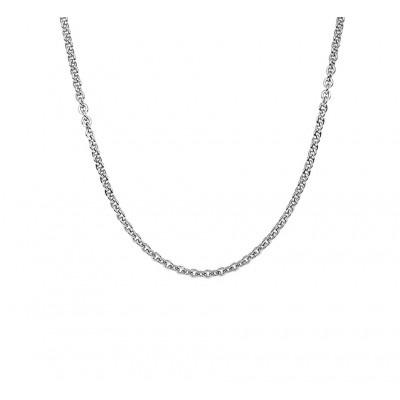 Zilveren ketting met ankerschakel 41-45 cm