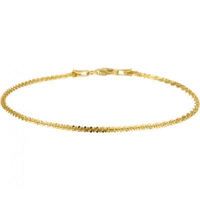 Gouden armband fantasie schakel