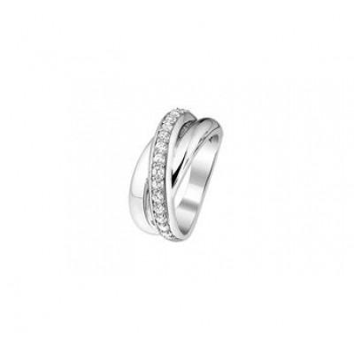 Ringen zilver met zirkonia