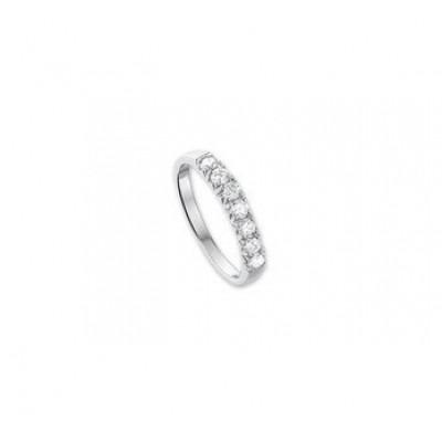 Zilveren elegante ringen zirkonia