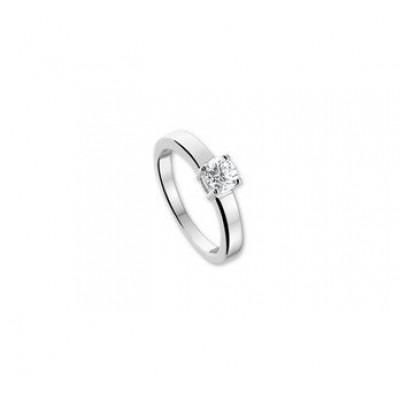 Zilveren ring zirkonia