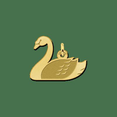 Zwaan hanger van goud