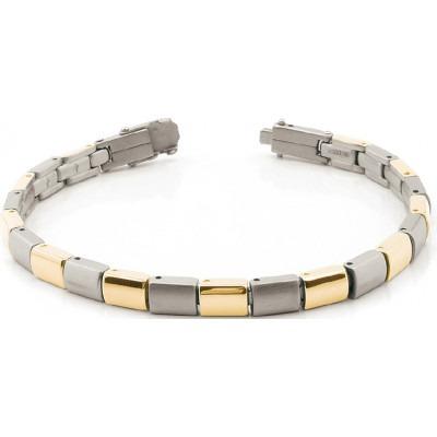 Boccia Titanium armband bicolor 0313-02