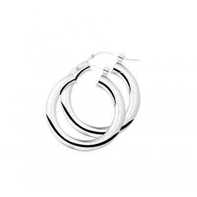 Paar oorringen in 925 Sterling zilver
